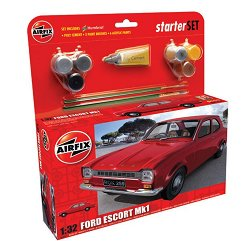 Автомобил - Ford Escort - Сглобяем модел - стартов комплект - макет