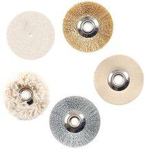Комплект полиращи четки и дискове за мини шмиргел SP/E - продукт