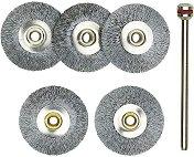 Комплект мини метални четки 22 mm - Инструменти за моделизъм - продукт