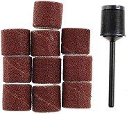 Комплект мини абразивни пръстени и шпиндел - продукт