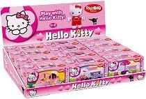 """Hello Kitty - Детски мини конструктор от серията """"Hello Kitty"""" - играчка"""
