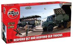 Камиони Bedford QLT / Bedford QLD Trucks - Сглобяем модели -