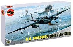 Бомбардировач - De Havilland Mosquito NF.II / FB.VI / MkXVIII - Сглобяем авиомодел -