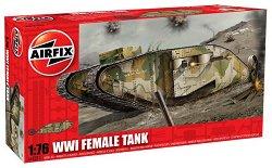"""Танк - WWI """"Female"""" Tank  - Сглобяем модел - макет"""
