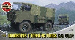 Военен камион - Landrover 1 Tonne FC Truck G.S. Body - Сглобяем модел -