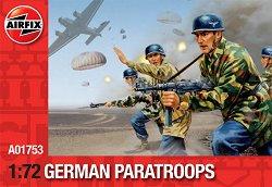 Немски парашутисти от Втората световна война - Сглобяем модел -