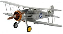 Военен самолет - Gloster Gladiator Mk.1 - Сглобяем авиомодел -