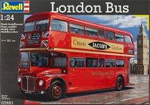 Лондонски автобус - Сглобяем модел - макет