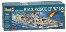 Военен кораб - H.M.S. Prince Of Wales - Сглобяем модел -