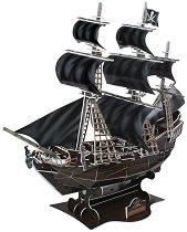 """Кораб """"Отмъщението на кралица Анна"""" - 3D пъзел - пъзел"""