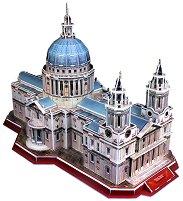 Катедралата Свети Павел - 3D пъзел - пъзел