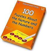 100 puzzles about the nature and the numbers -