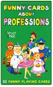 Funny cards about professions -