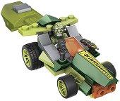 """Колата на Лизард с изстрелвачка - Детски конструктор от серията """"Spider-Man"""" -"""