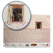 Тапет - Обзавеждане за колекционерски къщи за кукли -