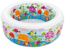 Детски басейн - Морски свят - Надуваема играчка - играчка