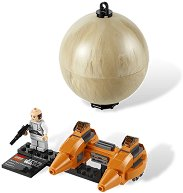 """Космически кораб и Беспин - Детски конструктор от серията """"Star Wars: Buildable galaxy"""" - играчка"""