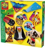 Оригами - Животни - Творчески комплект - играчка