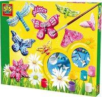 Създай и оцвети - Пеперуди - Творчески комплект - хартиен модел