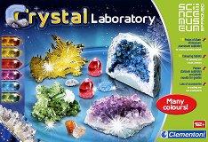 Детска лаборатория за кристали - творчески комплект