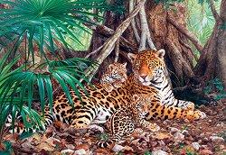 Ягуари в джунглата - пъзел