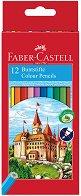 Цветни моливи - Замък - Комплект от 6, 12, 24, 36 или 24 цвята - продукт