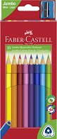 Цветни моливи - Triangular Jumbo - Комплект от 10, 20 или 30 цвята