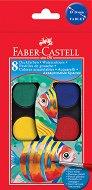 Акварелни бои - Палитра от 8 цвята -