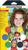 Бои за рисуване върху лице - Парти - Комплект от 6 цвята