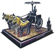 Бронзови колесници и коне, Китай - 3D пъзел - пъзел