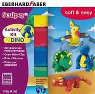 """Динозаври - Комплект моделин от серията """"Sculpey"""""""