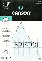 Блок за рисуване с туш - Bristol - Формат А4