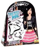 """Създай сама - Бижута - Творчески комплект от серията """"Trendy Me"""" - играчка"""