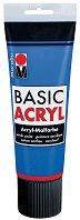 Акрилна боя с матов ефект- BasicAcryl - Шишенце от 80 ml и тубичка от 225 ml