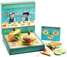 Сандвичи - Комплект дървени фигури - кукла