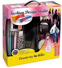 """Създай сам модно студио - Творчески комплект от серията """"Creativity for Kids"""" - играчка"""