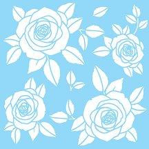 Шаблон - Рози