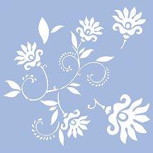 Шаблон - Танцуващи цветя