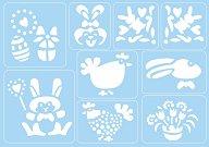 Самозалепващи се шаблони - Великден - Комплект от 9 мотива