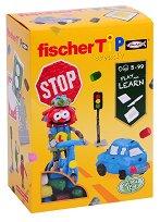 Направи и научи: Пътни знаци - Детски еко конструктор - продукт