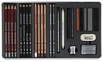 Графичен комплект - Teachers Choice Advanced - Комплект моливи и аксесоари