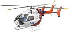 Полицейски хеликоптер - EC145 - Сглобяем авиомодел -