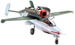 """Военен самолет - Heinkel He162A-2 """"Salamander"""" - Сглобяем авиомодел -"""