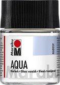 Гланцов лак на водна основа - Бурканче от 50 ml