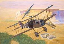 Военен самолет - Royal Aircraft Factory S.E. 5a - Сглобяем авиомодел -