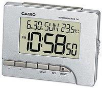 """Настолен часовник Casio - DQ-747-8EF - От серията """"Wake Up Timer"""""""