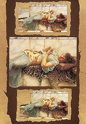 Декупажна хартия - Годеница 071 - Дизайн на Anne Zada