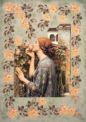 Декупажна хартия - Аромат на рози 077 - Дизайн на Anne Zada
