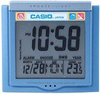 """Настолен часовник Casio - DQ-750F-2 - От серията """"Wake Up Timer"""""""