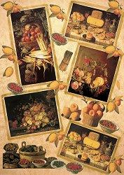 Декупажна хартия - Натюрморт с плодове 075 - Дизайн на Anne Zada